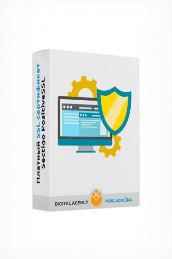 Платный SSL сертификат Sectigo PositiveSSL