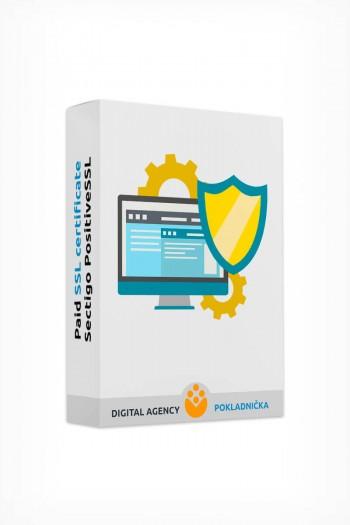 Paid SSL certificate Sectigo PositiveSSL