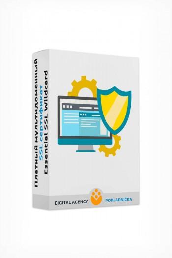 Платный мультидоменный SSL сертификат Essential SSL Wildcard